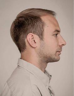 Men's Haircut For Receding Hairline