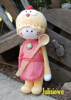 Crochet doll Koko - PDF pattern. by JulioToys on Etsy https://www.etsy.com/listing/197689391/crochet-doll-koko-pdf-pattern