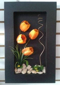 Plantas Naturales y Artificiales You are in the right place about Mammals cute Here we offer you the Flower Frame, Flower Wall, Diy Wall Art, Wall Art Decor, Rock Crafts, Diy And Crafts, Deco Floral, Autumn Wreaths, Wall Art Designs