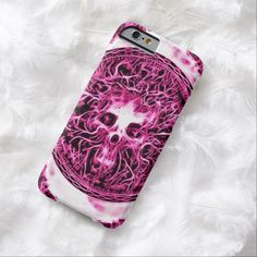 Skully Skull High Priestess iPhone 6, Barely There Case by Wraithe Designs.