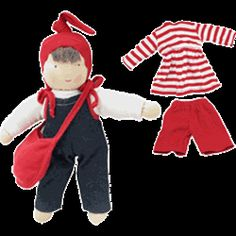 Madelaine loves this doll at the store Egyptian Organic Cotton  Jill With Purse And Clothes (Fair Trade)
