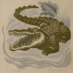 Crocodile - Ernest Mervyn Taylor