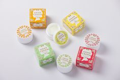 packageのデザイン|まちやコスメtefutefu Cosmetic Labels, Cosmetic Packaging, Cream Cream, Hand Cream, Paint Designs, Food Design, Layout Design, Packaging Design, Packing