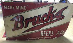 Bruck's Beer Sign