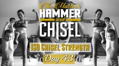 Day 43 | Master's Hammer and Chisel | Get Fit with Tina Marie
