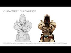[Released] UE4 Character Cel Shading Pack (v1.1.0) - YouTube