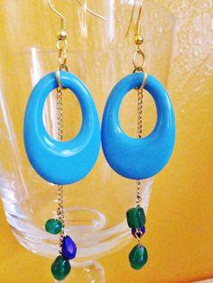A personal favorite from my Etsy shop https://www.etsy.com/listing/233813420/drop-earrings-turquoise-drop-earrings