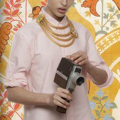 Vintage Versace necklace by Ugo Correani   LaDoubleJ