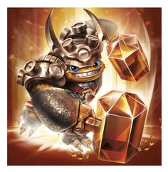 Wallop - Skylanders Trap Team