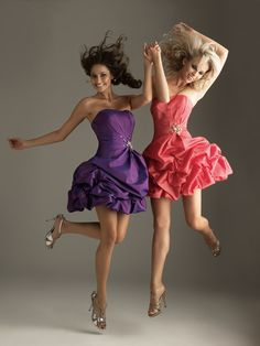 Fancy party dresses make the fancy some artistic work done on the dresses or the stuf which is use to make that dresses fancy party dresses are different for different age groupe and according to their personality.