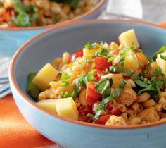 Macaronisalade met kip en pesto - Recept - Jumbo Supermarkten