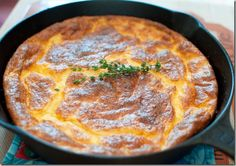 Cheesy Grits Casserole - that's some hangover food.