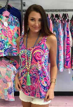 Contemporary women's clothing from Fabulous Finds Boutique. Summer Clothes, Summer Outfits, Cute Outfits, Fashion Books, Women's Fashion, Fashion Outfits, Silver Heels Prom, Tropical Outfit, Tie Dye Shirts