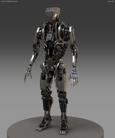 Fausto de Martini Robocop Concept Art - Rocketumblr