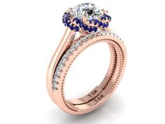wedding ring, rose gold wedding, perfect Wedding ring, moissanite ring - Engagement Rings