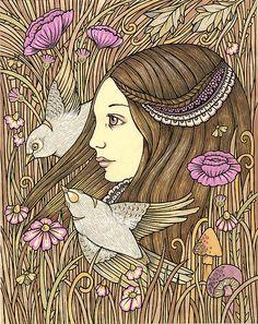 Gaia's summer by Anita Inverarity