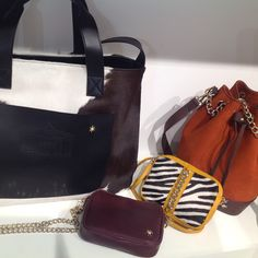 Stella Bags, Fiammetta Little shoulder bag.....All at www.durval.it