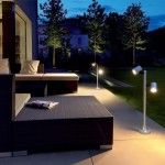 Garden Lights offers a wide range of high-quality outdoor garden lights. Landscape lighting or garden lighting refers to the use of outdoor illumination of private gardens and public landscapes. Gazebo Lighting, Outdoor Lighting Landscape, Outdoor Wall Lighting, Exterior Lighting, Lighting Ideas, Modern Lighting, Outdoor Gazebos, Outdoor Landscaping, Outdoor Flooring
