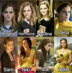 Which emma character you like the most😍😍😘😙 via ***Belle and Hermione for life Harry Potter Hermione, Harry Potter Feels, Mundo Harry Potter, Draco Harry Potter, Harry Potter Tumblr, Harry Potter Pictures, Harry Potter Universal, Harry Potter Characters, Harry Potter World