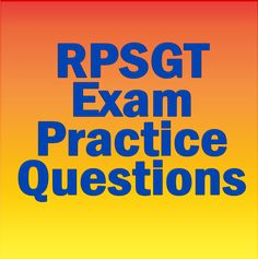 If you're thinking about becoming a Registered Polysomnographic Technologist, you'll need to prepare yourself for the RPSGT exam. These free RPSGT exam practice questions will help you to achieve a higher score on the actual RPSGT exam. #rpsgt