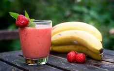 Mein absoluter Lieblings-Smoothie   Rezept: 400 g Erdbeeren 2 Reife Bananen 400 ml Flüssigkeit (z.B. Orangensaft, Apfelsaft, Wasser, ...)