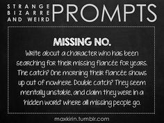 ✐ DAILY WEIRD PROMPT ✐