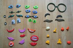 Crescent and Old Lace: Magnetic faces Fun Crafts, Crafts For Kids, Kindergarten, Lace, How To Make, Blog, Craft Ideas, Play Dough, Craft