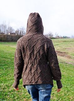 'Rime's the Reason' cardigan : Knitty Winter 2012 by Jodie Gordon Lucas  ~  FREE pattern