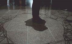 interactive shadow art   #tech #art
