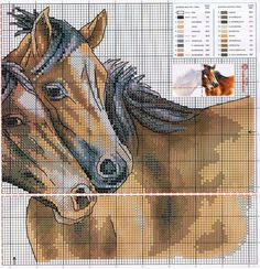 Cross-stitch Horses, part 2