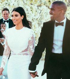 O make (com produtos baratex!) de Kim Kardashian em seu casamento