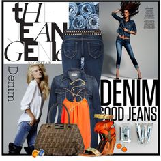 """""""GOOD JEANS"""" by sherry7411 on Polyvore"""