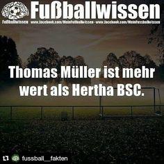 #Repost @fussball__fakten Krass #thomas #müller #hertha #bsc #herthabsc