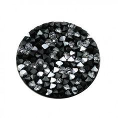 Swarovski Crystal rock C cal noir - site de vente d'accessoires pour création de bijoux fantaisie - www.calypsobijoux.com
