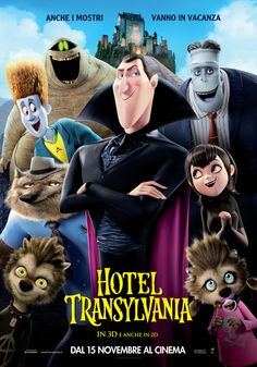 Hotel Transylvania - 2012 Enter the vision for. Animation Type and Films Original is name Hotel Transylvania. Bon Film, Film D'animation, Film Serie, Love Movie, Movie Tv, Hotel Transylvania 2012, Transylvania Dracula, 2012 Movie, Disney Films