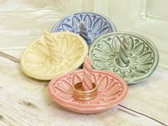 Ring Holder Dishes from MyMothersGarden