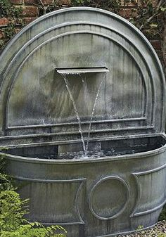 The Luxembourg Fountain brings regal charm and elegance into your outdoor space while providing you with serene sounds that will encourage your relaxation.