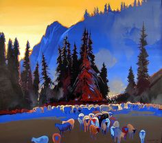 Stephen Quiller - this is one of my favorites. I get lost in this blue.
