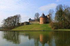 Gaasbeek in the Province of Flemish Brabant, Belgium