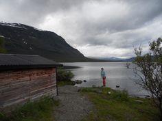 Švédsko - jezero Abisko