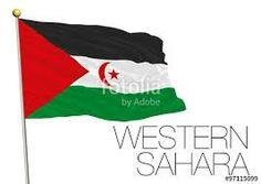 Western Sahara, Flag Vector, Logos, Logo