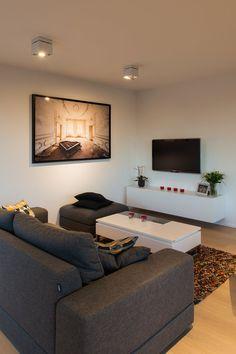Villa T - Picture gallery Belgium, Flat Screen, Villa, Couch, Gallery, Furniture, Design, Home Decor, Blood Plasma