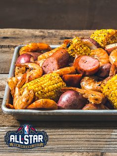 Traeger Cajun Broil Sausage, potatoes, corn, and shrimp are all roasted on the Traeger, then tossed together for a broil so flavorful you won't soon forget. Healthy Grilling Recipes, Gourmet Recipes, Grilling Ideas, Recipes Dinner, Seafood Recipes, Pellet Grill Recipes, Grilled Shrimp Recipes, Traeger Recipes, Sausage Potatoes