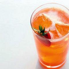 Strawberry, Lemon, and Basil Soda Recipe