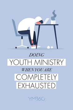No one goes into youth ministry because they want to spend their days relaxing in a stress-free environment. (Or, if they do, it's safe to say they immediately realize they've made a terrible decision, lol.) Youth ministry is not for the faint of heart! Especially those youth workers who are bi-vocational. Youth ministry can be exhausting. But it's also one of the most rewarding callings imaginable. Youth Worker, Leadership Skill, Fight The Good Fight, Gods Plan, Bible Crafts, Youth Ministry, Bible Lessons, Christian Inspiration, Christian Faith