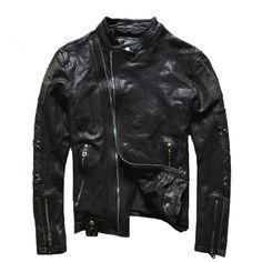 21d64284597e 64 Best Men s genuine leather coats images
