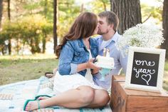 One Year Anniversary Photo idea » Ashley Biess Photography