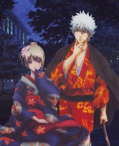 Gintoki X Tsukuyo Anime Cupples, All Anime, Comedy Anime, Okikagu, Another Anime, Cartoon Games, Fandom, Character Design References, I Love Anime