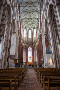 Beautiful church in Lubeck, Germany. #travel