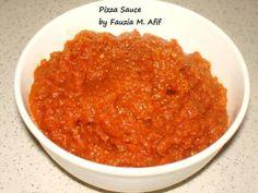 Pizza/Pasta Sauce | Fauzias Kitchen Fun